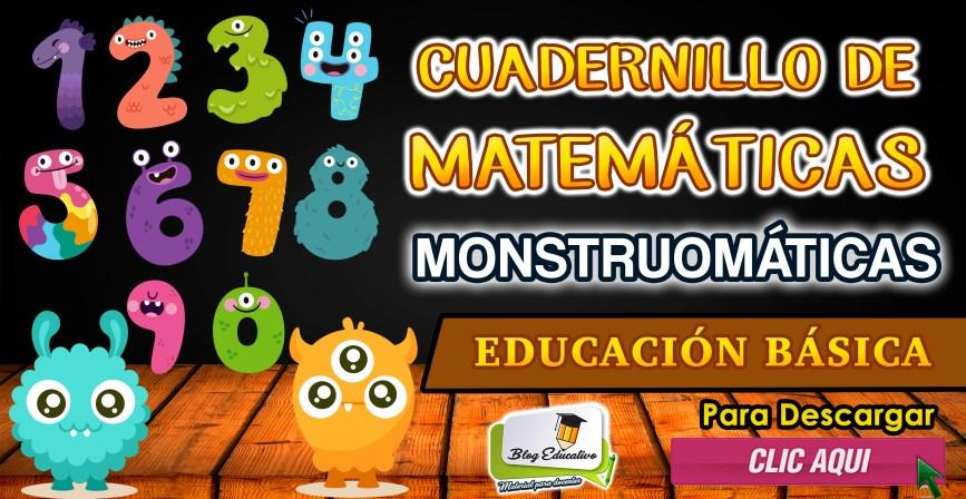 Cuadernillo de Matemáticas Monstruomáticas gratis