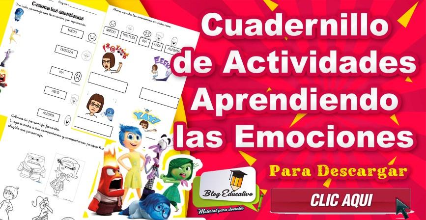 Cuadernillo de Actividades - Aprendiendo las emociones