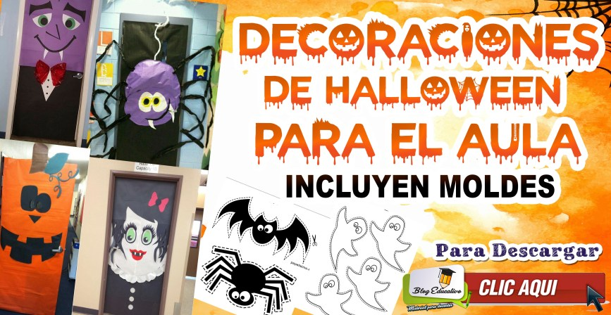 Decoraciones de Halloween para el aula - Blog Educativo