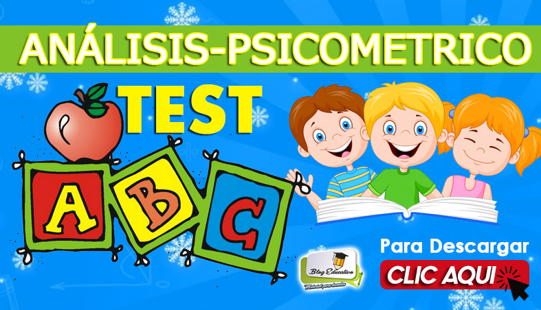 Test ABC de Análisis Psicometrico - Blog Educativo
