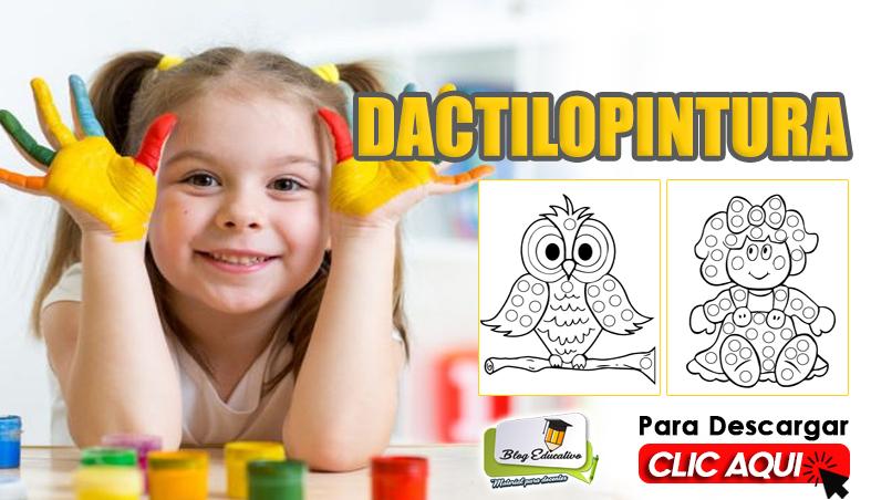 Dactilopintura para Niños Gratis en PDF - Blog Educativo