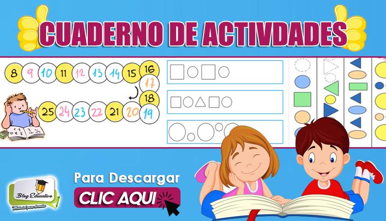 Cuaderno de Actividades para Niños - Blog Educativo