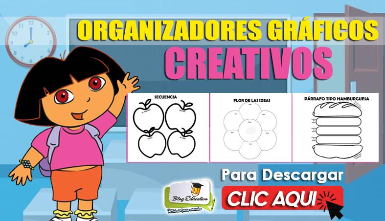 organizadores gráficos creativos en PDF - Blog Educativo