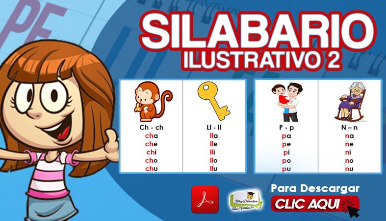 Silabario Ilustrativo 2 gratis en PDF- Blog Educativo