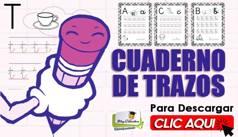 Cuaderno de Trazos con ilustraciones - Blog Educativo