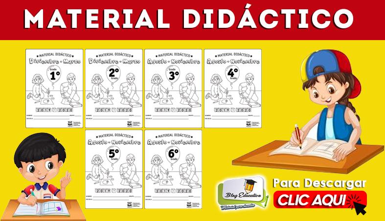 Material Didáctico 2019 2020 gratis - Blog Educativo
