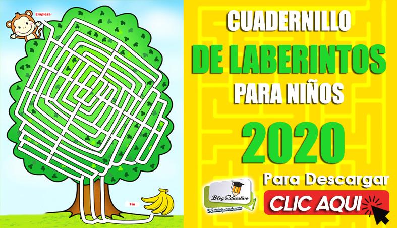 Cuadernillo de Laberinto para Niños 2020 - Blog Educativo