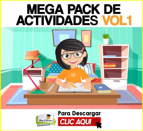 Mega Pack de Actividades Vol1 Gratis - Blog Educativo