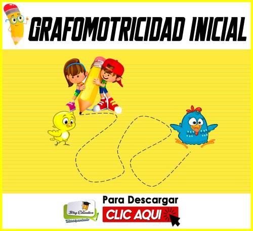 Grafomotricidad Inicial Ficha gratis - Blog Educativa