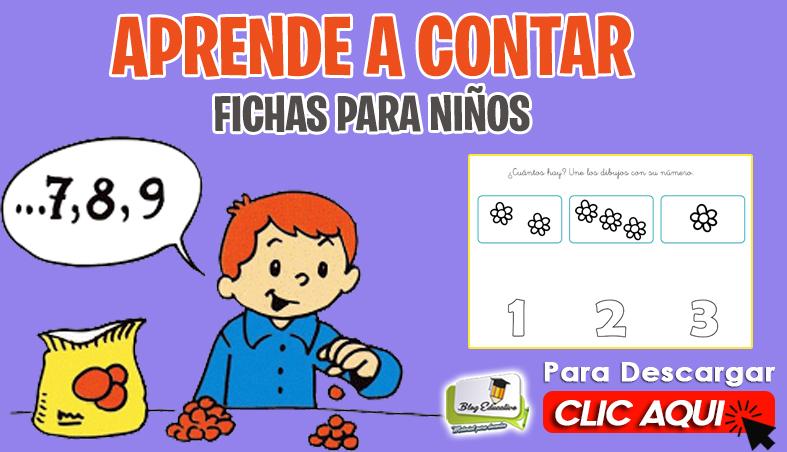 Aprende a Contar Fichas para Niños - Blog Educativo