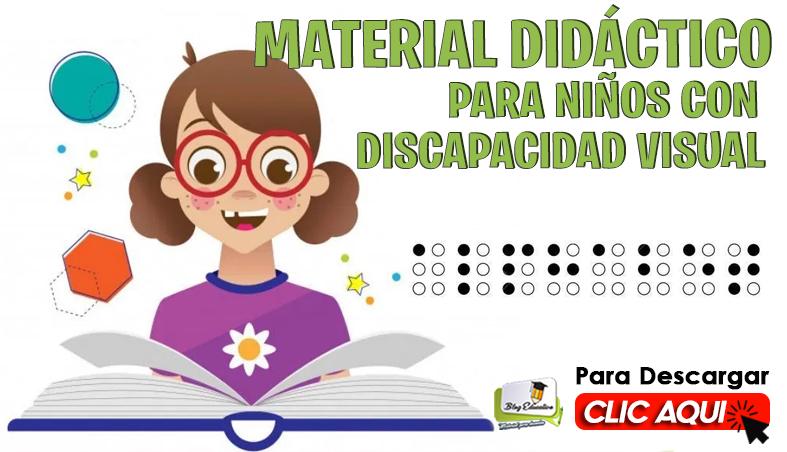 Material Didáctico para Niños con Discapacidad Visual