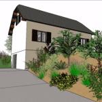 Tuto SketchUp Dessiner sa maison chapitre 3 : Création de l'environnement (Adebeo)