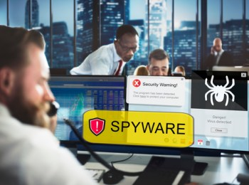Technology E-mail & Phone Threats 2020 - Spyware Computer Threats Picture