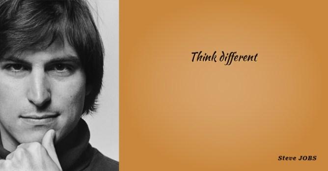 think diffrent