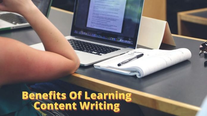 Benefits Of Learning Content Writing