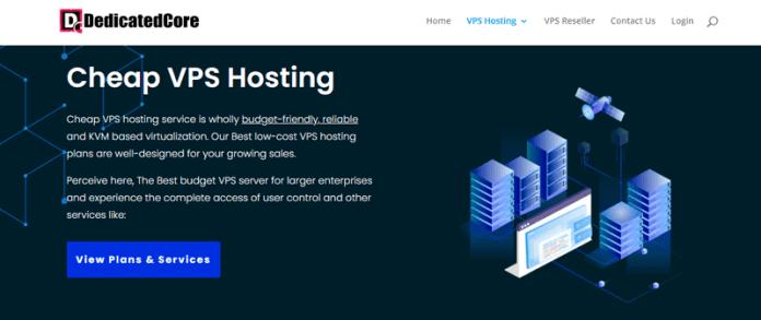 dedicatedcore best vps hosting