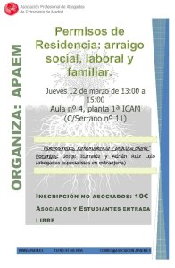 Charla APAEM arraigo social, laboral y familiar