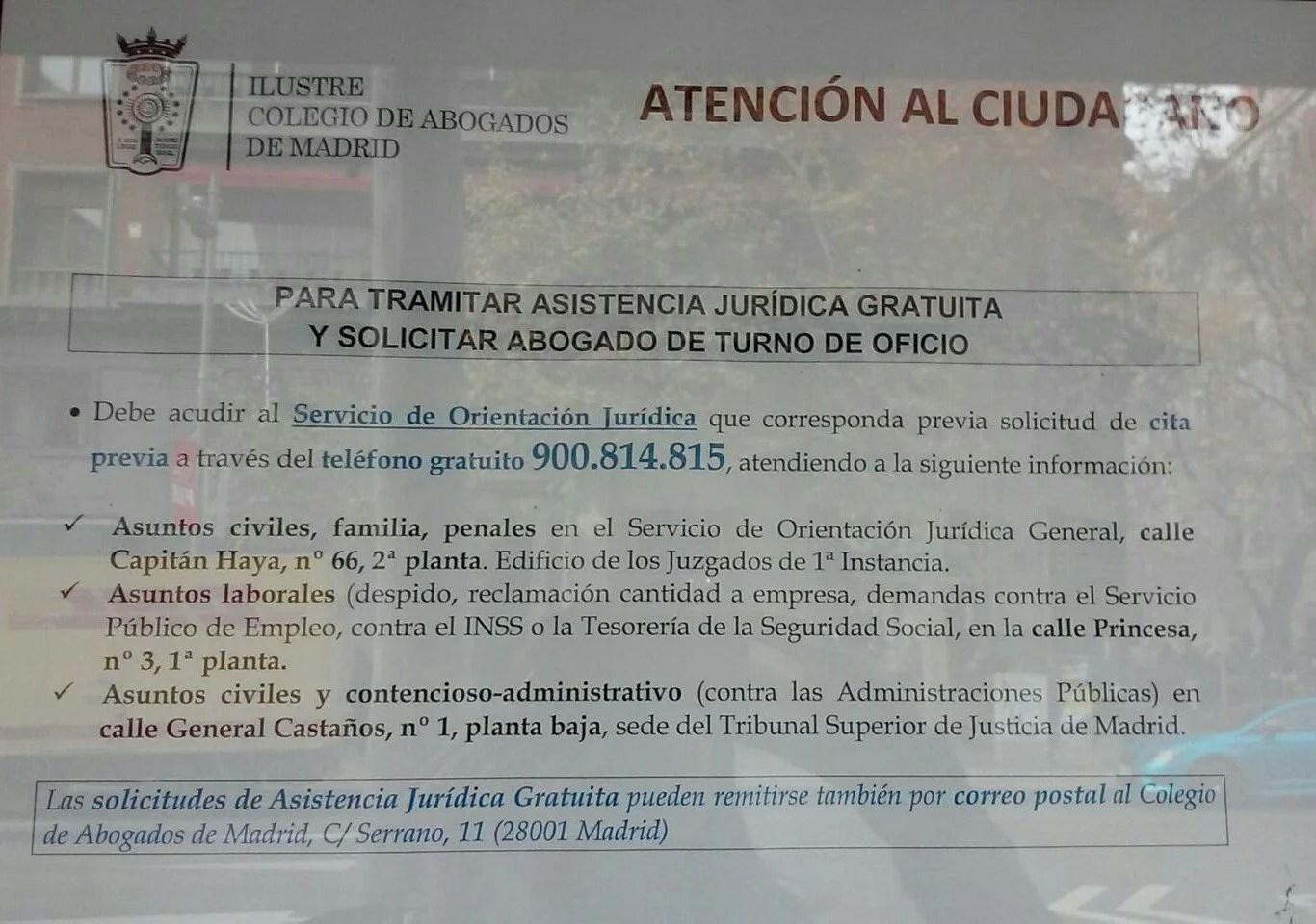 Asistencia Jurídica Gratuita - Blog Extranjería Asociación Progestión