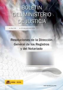 Foto portada resoluciones DGRN Diciembre 2015
