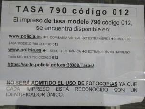 Foto aviso San Felipe tasa policía
