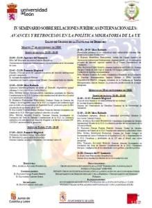 foto-cartel-iv-seminario-relaciones-jcas-internacionales-univ-leon