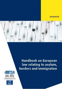 Foto portada handbook on European law relating to asylum, borders and immigration