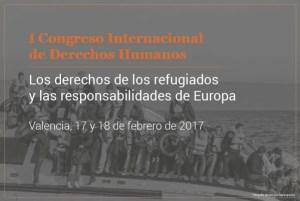 Cartel Congreso I DDHH refugiados