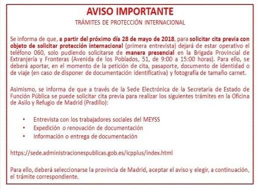Ministerio del interior cita previa renovacion pasaporte for Cambios en el ministerio del interior