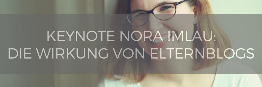Keynote Blogfamilia: Nora Imlau