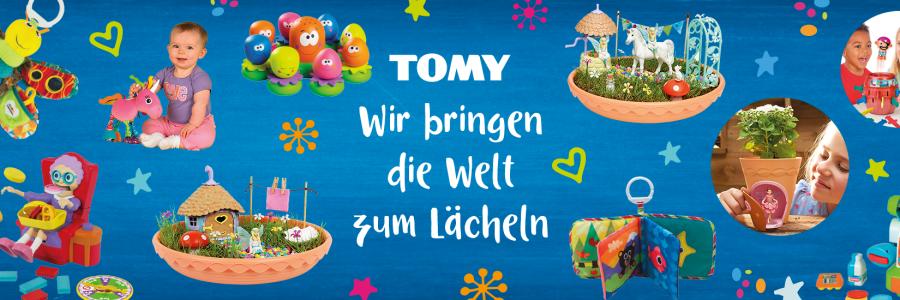 TOMY auf der Blogfamilia 2018