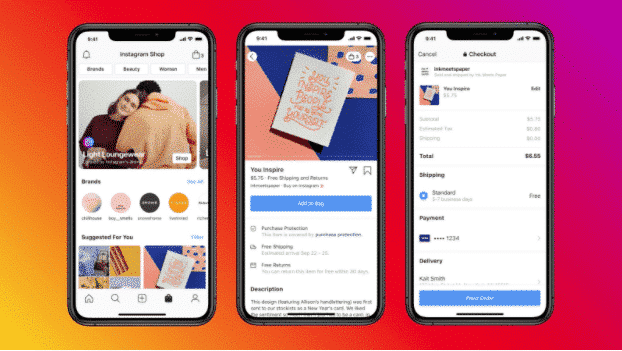 instagram shopping insights