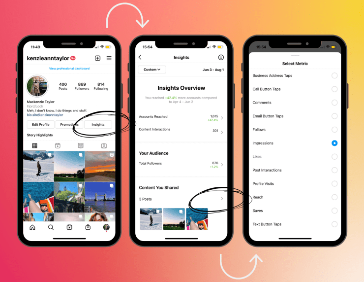 how to get to instagram insights tool