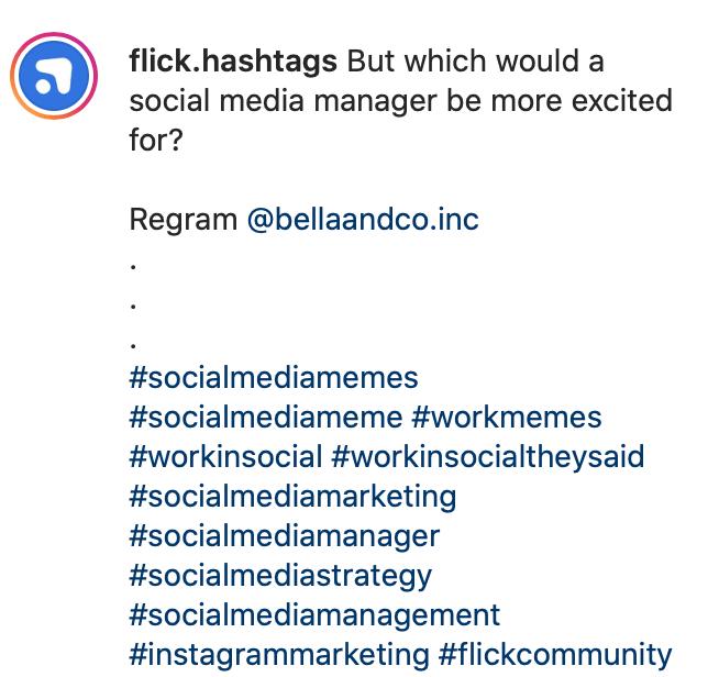 instagram hashtag ideas