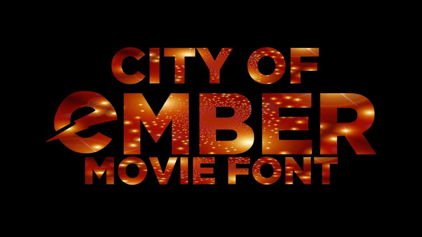 City Of Ember Windows Font