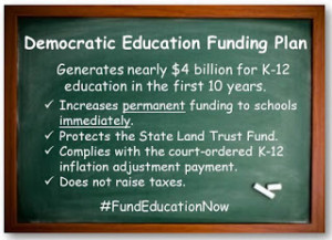 Democratic ED Funding Plan