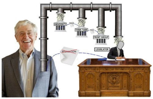 "The Koch brothers ""structure of social change."""