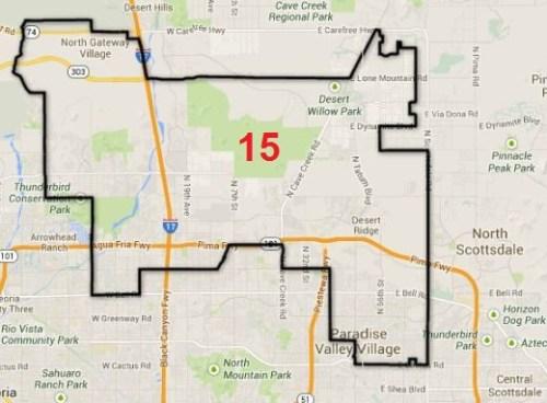 Legislative district 15