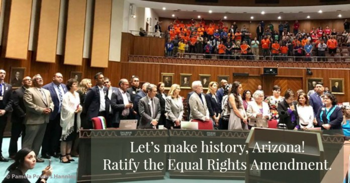 House Democrats propose ratification of ERA in 2019.