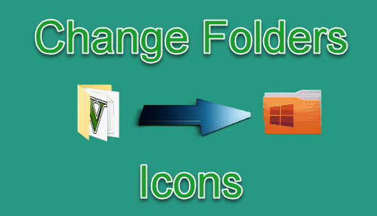 computer folders icons change kaise kare