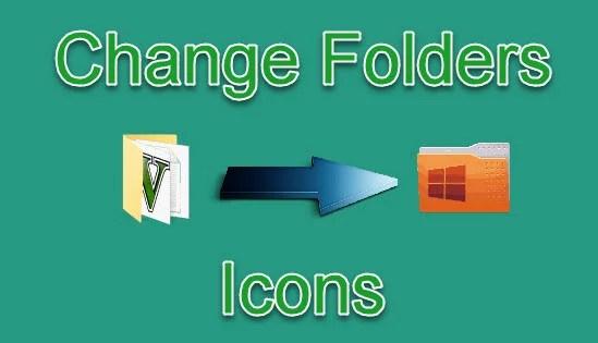 computer folders icons change kaise kare