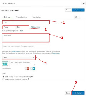 Create a Event
