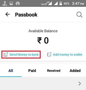 Send Money To Bank