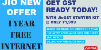 JioFi New Free Data Offer