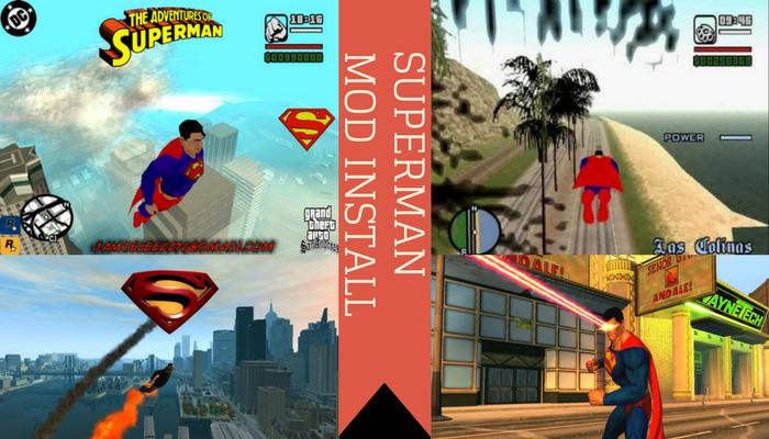 Superman Mod Install