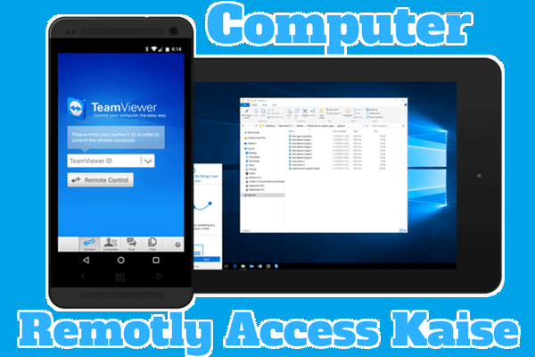 Computer screen Android Mobile Se Remotly Access kaise kare