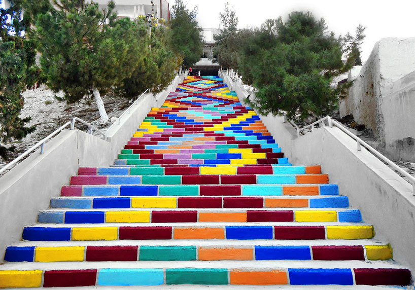 How to choose a power stairs climbing wheelchair that is , scewo bro. Art Painted Staircase The Foundation Blog