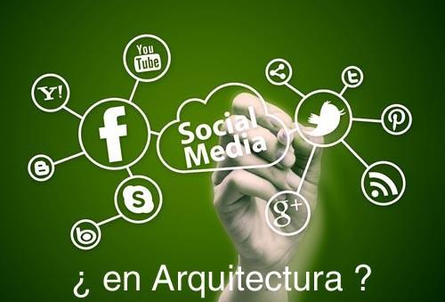 social media arquitectura
