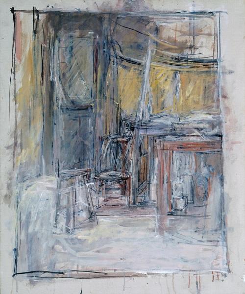 Interior 1949 Alberto Giacometti 1901-1966 Purchased 1949