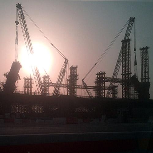 Imagen tomada por el autor en los exteriores de Doha, Qatar.