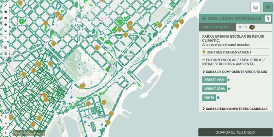 Urban School Climate Refuge Network for Barcelona